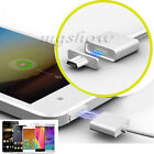 Micro USB Charging Cable Magnetic Adapter Charger Lead for Android Phone Silver