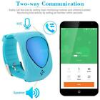 GPS Tracker Watch SOS Call Kids Guard Smartwatch for iPhone & Android NM W7X9