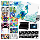 """For Macbook Pro Air 11""""13""""15""""Retina 12"""" Water Color Paint Hard Case Cover +KB+SP"""