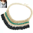 New Resin Beads Collares Necklaces & Pendants Gold for women jewelry Accessories