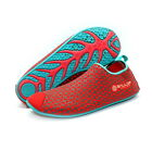 Ballop Aqua Fit Skin Shoes Water Play Travel Yoga Peanut Red for Woman Lady