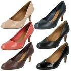 Ladies Clarks Court Shoes The Style - Arista Abe