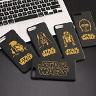 New Gold Design Star Wars Character Hard Case For iPhone 5S 6S 6 Plus 7 8 Plus $3.99 AUD on eBay