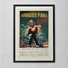 Classic ROBOT MOVIE POSTER - Outer Space B-Movie Poster - Retro Cult Movie Poste