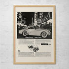 VINTAGE TRIUMPH TR-3 Ad - Retro Triumph Car Ad - Classic British Car Ad $9.95 USD on eBay
