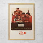 VINTAGE COKE AD - Mid-Century Coca-Cola Ad - Mad Men Style Ad - Retro Barware Po $9.95  on eBay
