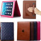 Luxury Handle Card Pocket Stand Leather Case Smart Cover For iPad 2 3 4 Mini Air