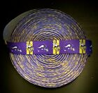"7/8"" Minnesota Vikings Block Grosgrain Ribbon by the Yard (USA SELLER) $0.99 USD on eBay"