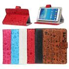 For Android Tablet 7'' Universal Magnetic Cartoon Leather Flip Stand Case Cover