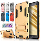 High Impact Rugged Shockproof Armor Case Cover for Samsung Galaxy Note 4