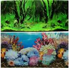 """Fish Tank Aquarium 20"""" H(50cm) Background 2 sided picture image forest rock 10"""
