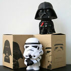 "2pcs Set Stormtrooper Figure 10cm 4"" Darth Vader Star Wars New In Box Movie"