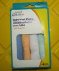 Angel of Mine Baby Wash Cloth New, 4 Pack