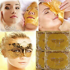 GOLD Collagen Bio Crystal Face Facial Mask Anti Ageing Skin Care Eye Moisture