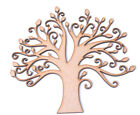 Wooden MDF Tree Shape blank Family Tree Frame Wedding Guestbook Crafting