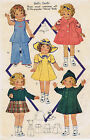 "418 Vintage Chubby Doll Pattern - Size 18"" - Year 1936"