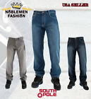 "SOUTHPOLE  MEN'S 4180 RELAXED FIT  BASIC DENIM JEANS BIG & TALL SIZE 32""~52"""