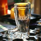Shoe Welly Boot Shot Glass / Vase / Pot + Free Personalised Engraving (optional)