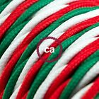 Italia Twisted Cloth Covered Wire - 144ft Roll