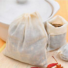 10/50/100PCS New Large Cotton Muslin Drawstring Reusable Bags For Soap Herbs Tea