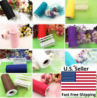 "6""X25YDS Tulle Spool Roll Wedding Bridal Party Favor Decoration Tutu Craft"