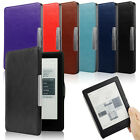 Magnetic Folio Slim Auto Sleep Cover Case Protecting US for Kobo Glo HD eReader