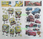 PADDED STICKERS - Cars - Spongebob Squarepants
