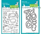 Lawn Fawn LITTLE BUNDLE, MOM + ME Clear Stamp Set and/or Lawn Cuts Dies