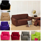 Stretchy Elastic Arm Chair Sofa Cover Protector Slip Over for 1/2/3/4 Seaters