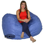 Large Bean Bag Chair 5 Foot Cozy Bean Bag Sack Pick your Color
