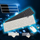 New 2.4G Optical Wireless Keyboard and Mouse USB Receiver Kit For PC Computer