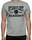 Star Trek Starfleet Academy College Style Sci Fi Movie Geek Mens Grey T-Shirt on eBay