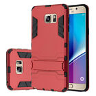 Samsung Galaxy Note 5 Dual Layer Protection Case Shockproof Cover w/ Stand