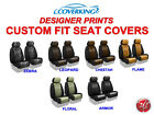 Coverking Designer Print Custom Fit Front Seat Covers for Jeep Renegade