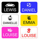 PERSONALISED ENGRAVED 38534 LITTLE TIKES COZY COUPE RIDE ON TOYS NUMBER PLATE