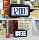 LCD Alarm Clock LED Light Digital Gift Table Desk Watch Modern Art Kitchen Home