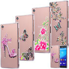 SLIM TPU CASE STRASS GLITTER COVER GEL SKIN TRANSPARENT CLEAR SONY