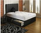 Divan Bed with 2 Drawers and Headboard comes with comfort ortho mattress