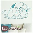 Scooby Doo Dog Wall Stickers / Stylish Vinyl Decal / Dog Wall Transfers bn59