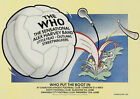 The Who Put The Boot In Tour Poster 1976 Charlton Swansea Glasgow