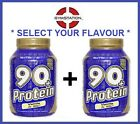 2x NUTRISPORT 90+ PROTEIN 908G Whey Protein Isolate select your flavours