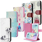 Wallet Flip Case Cover Motif Bumper Sleeve Protect Pouch Shell Samsung Galaxy