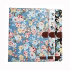 Flower Cloth PU Leather Flip Stand ID Card Case Smart Cover Skin For Apple iPad