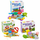 Kids Play Dough Craft Tubs & Shapes Children Modelling Toys Xmas Gift Sets Molds