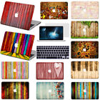 "New Wood Painting Hard Case Cover +KB +SP For Macbook Pro Air 11""13""15""Retina 12"