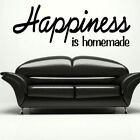 Happiness - Large Vinyl Wall Quote Large Wall Decal Big Vinyl Quote QU67