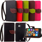 Magnetic Flip Wallet Leather Leaf Phone Case Cover Holder For Nokia Lumia 930