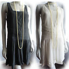 1920s Flapper Charleston Gatsby Dress *SECONDS* UK 8 10 12 14 NEW €49,99 CLEARNC