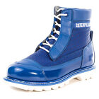 Caterpillar Special Edition Weldon Mens Leather Blue Patent Ankle Boots New