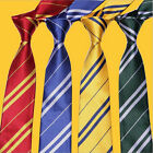 Harry Potter NeckTie Gryffindor Slytherin Ravenclaw Hufflepuff Accessory FOUK